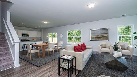 Family Room to Kitchen | Turner Plan