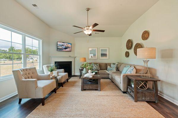 Living Room | Dorchester Plan