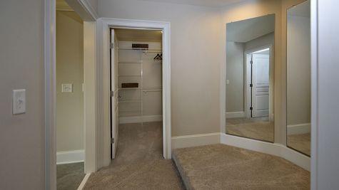 Master Bathroom Dressing Area - Yates Plan