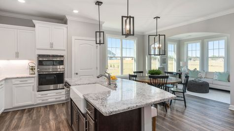 Kitchen and Eat-In | Parker Plan