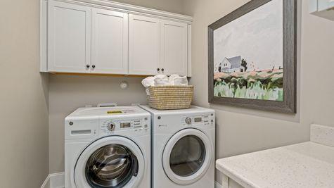Laundry Room | Edgewood Plan