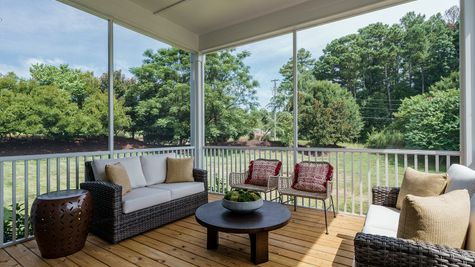 Screened-In Porch | Patterson Plan