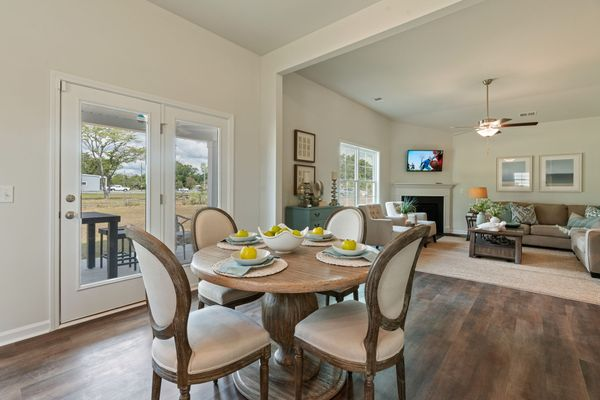 Eat-In to Living Room | Dorchester Plan