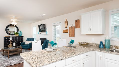 Kitchen to Family Room | Guilford Plan