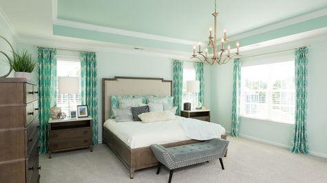 Master Bedroom   Yates Plan
