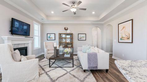 Family Room | Parker Plan