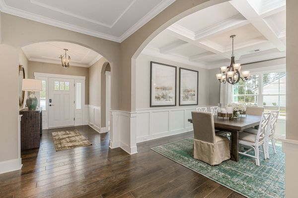 Entrance to Dining Room | Edgewood Plan