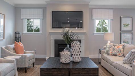 Family Room | Overland Plan