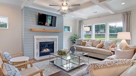Living Room | Webster Plan