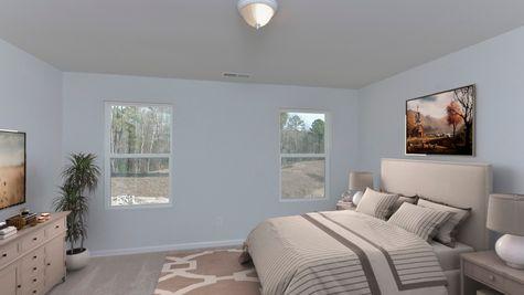 Primary Bedroom | Brunswick Plan