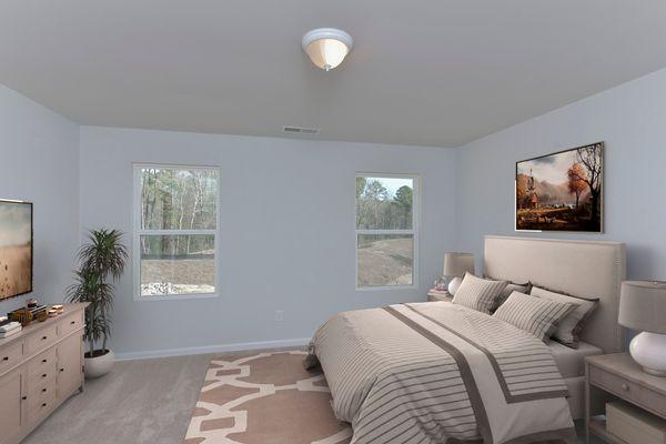 Primary Bedroom   Brunswick Plan