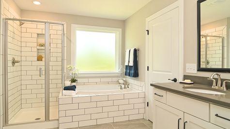 Primary Bathroom   Yates Plan