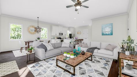 Family Room | Jenkins Plan