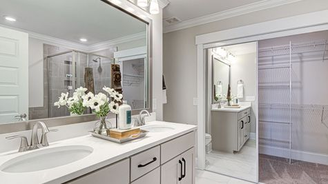 Secondary Bathroom | Victor Plan