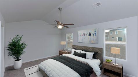 Primary Bedroom | Bartow Plan