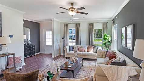 Family Room | McDowell Plan