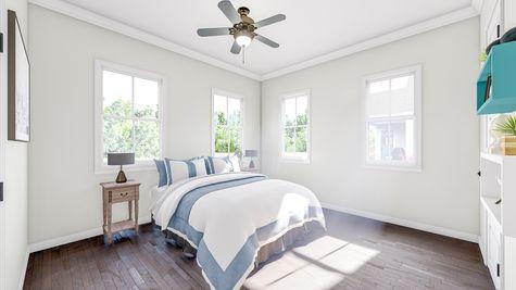 Secondary Bedroom | Albemarle Plan