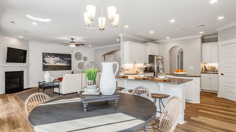 Kitchen and Family Room | Yates Plan