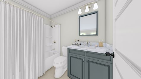 Secondary Bathroom | Jenkins Plan