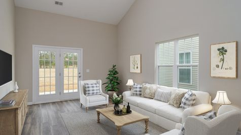 Family Room | Townsend Plan