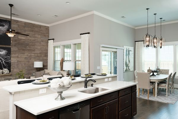 Kitchen to Family Room | Fullerton Plan