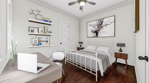 Secondary Bedroom | Hanahan Plan