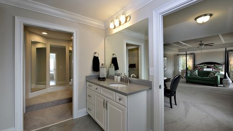 Master Bathroom - Yates Plan