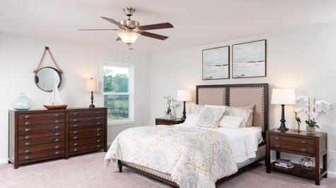 Master Bedroom - Telfair Plan