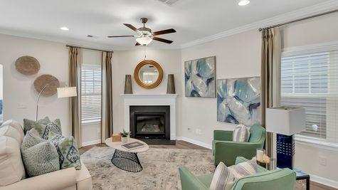 Family Room | Underwood Plan