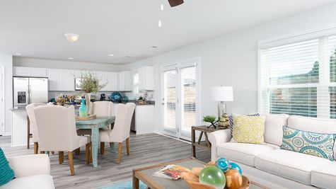 Family Room to Kitchen | Meriwether Plan