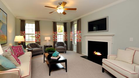 Great Room | Palmer Plan