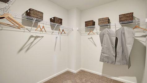 Master Closet | Telfair Plan