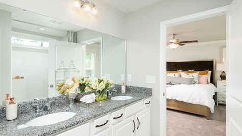 Master Bathroom | Lancaster Plan