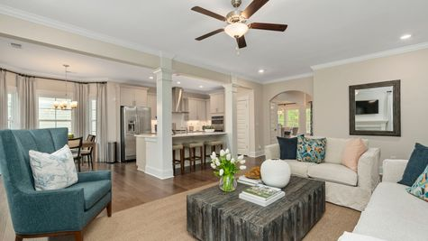 Family Room | Victor Plan