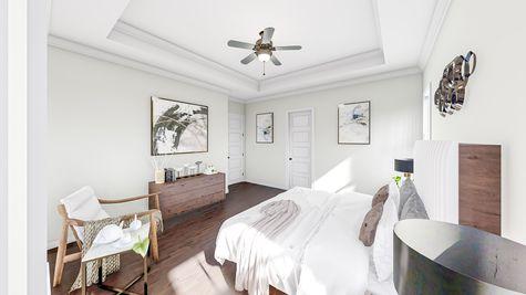 Primary Bedroom | Hanahan Plan