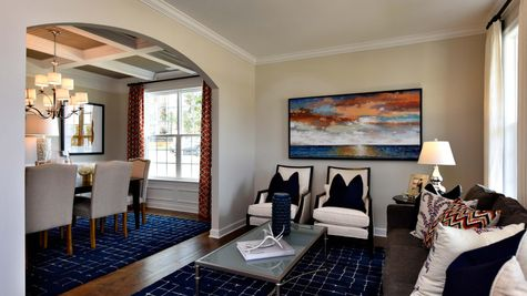 Living to Dining Room - Roland Plan