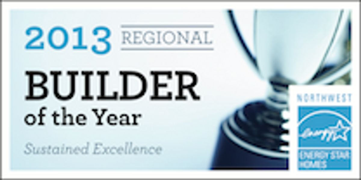 Logo - 2007-2013: ENERGY STAR Builder of the Year, Sustained Excellence