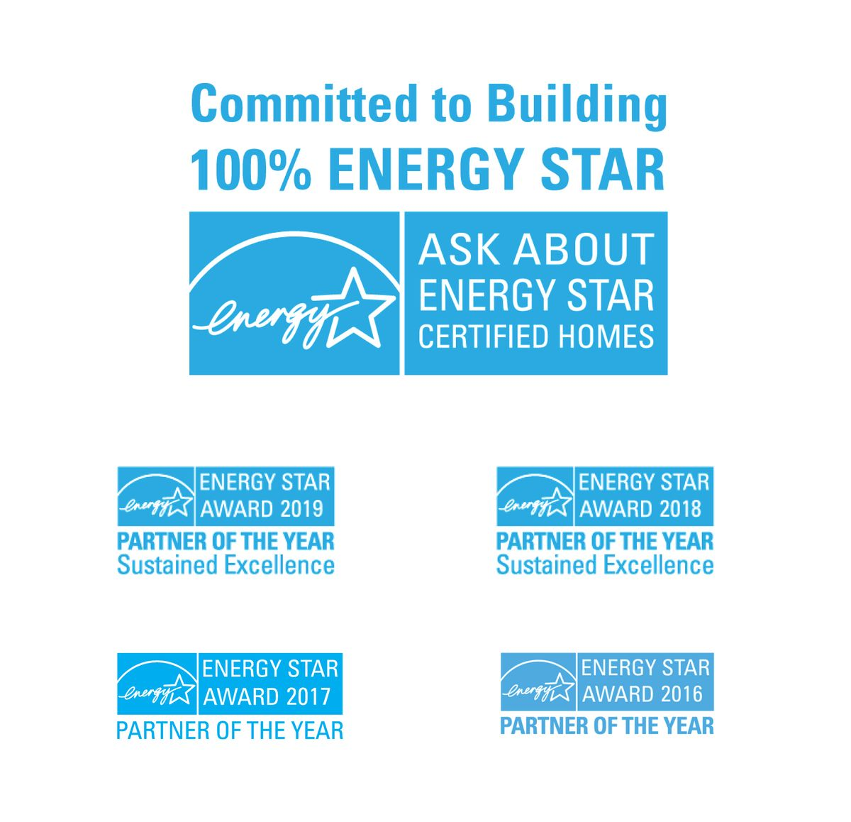 100% ENERGY STAR® Certified Homes