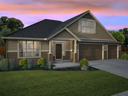 The Bonneville Floor Plan New Tradition Homes