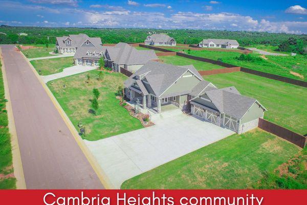 Rendering of new homes by Edmond builder nu homes Oklahoma