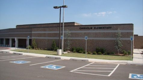 Elementary school near new homes in Edmond at Cambria Heights