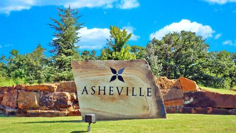 entrance to new homes for sale in asheville community