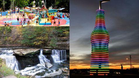 Montage of Edmond OK attractions