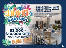 THE SUMMER SAVINGS SALES EVENT