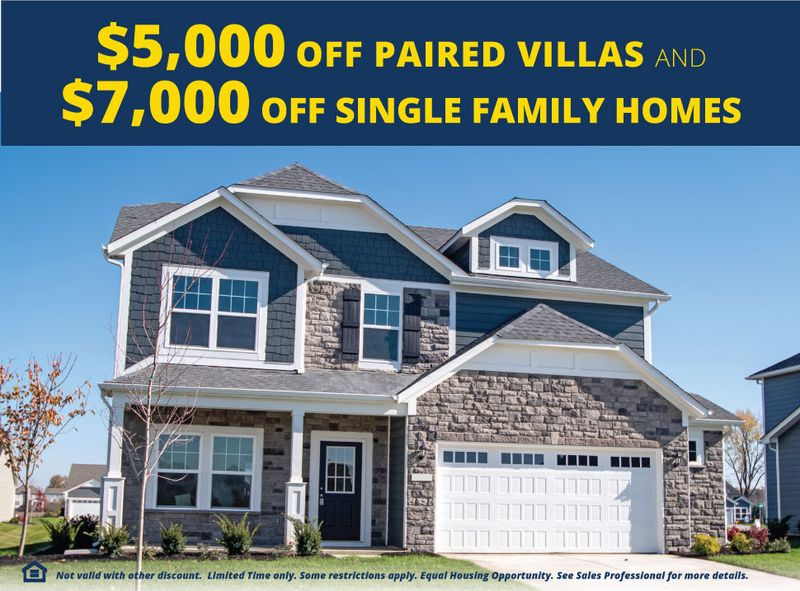 Receive up to $7,000 toward your new home in Grant's Corner!