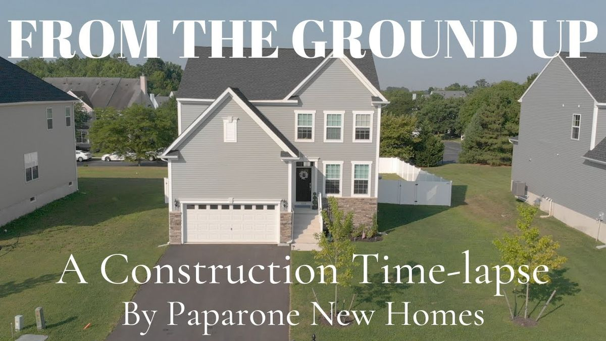 Construction time-lapse video of our Laurelton model being built from the ground up