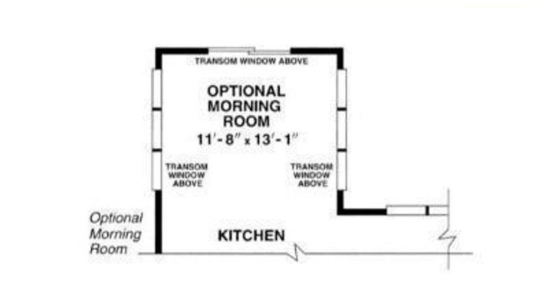 Avignon Grand Optional Morning Room