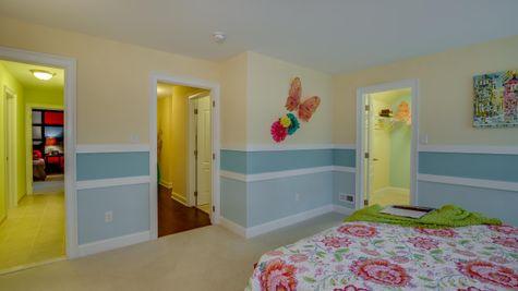 Bedroom in Brandywine model new home