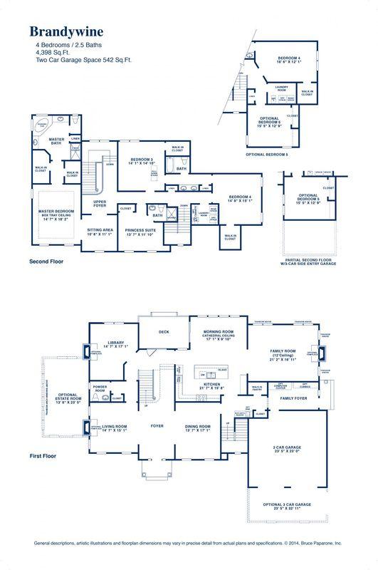 Brandywine Floor Plan