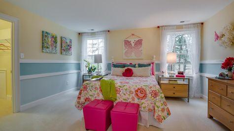 Bedroom in Brandywine model